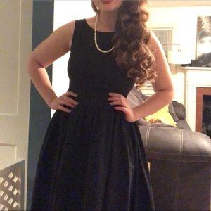 Black Lindy bop dress
